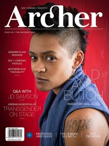 Archer Magazine #6 cover