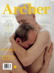 Archer Magazine #4 cover