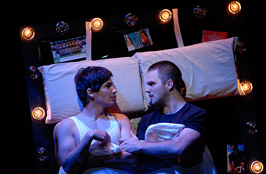 Image from Belvoir St Theatre's 2007 production of Holding the Man.