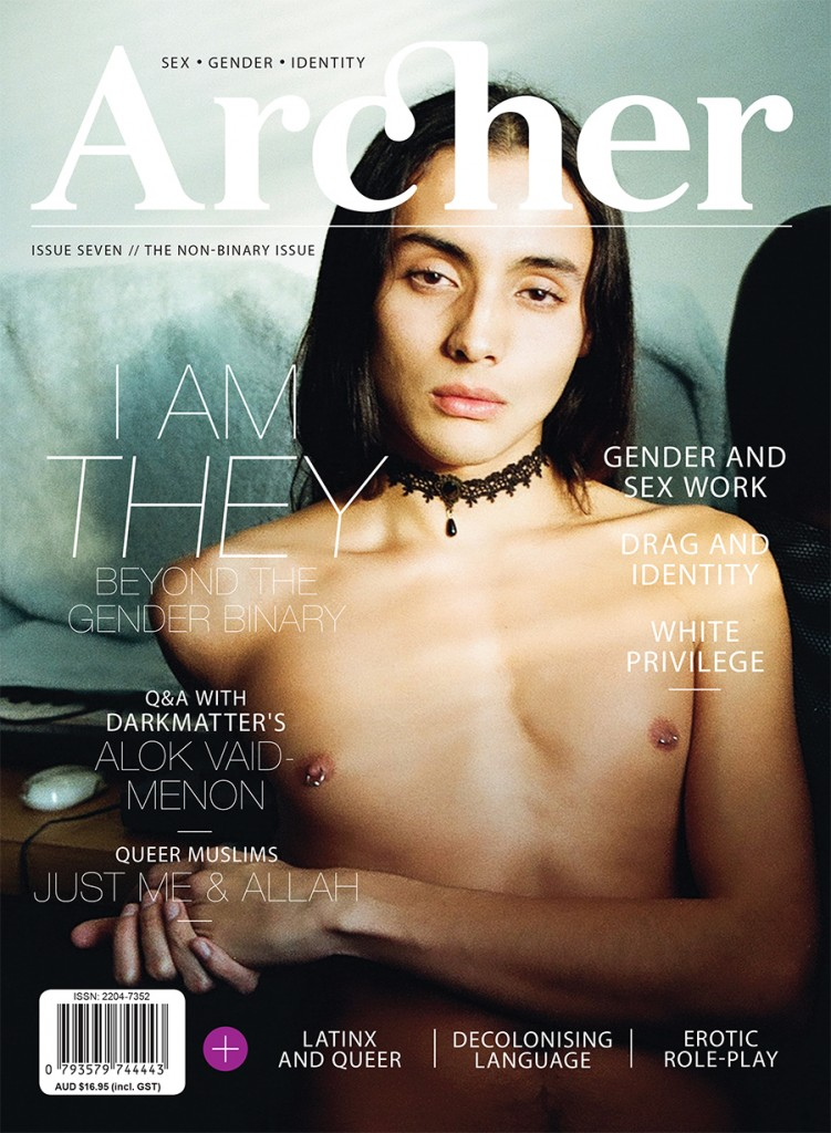 The 'THEY/THEIRS' issue – Archer Magazine #7 out in December!