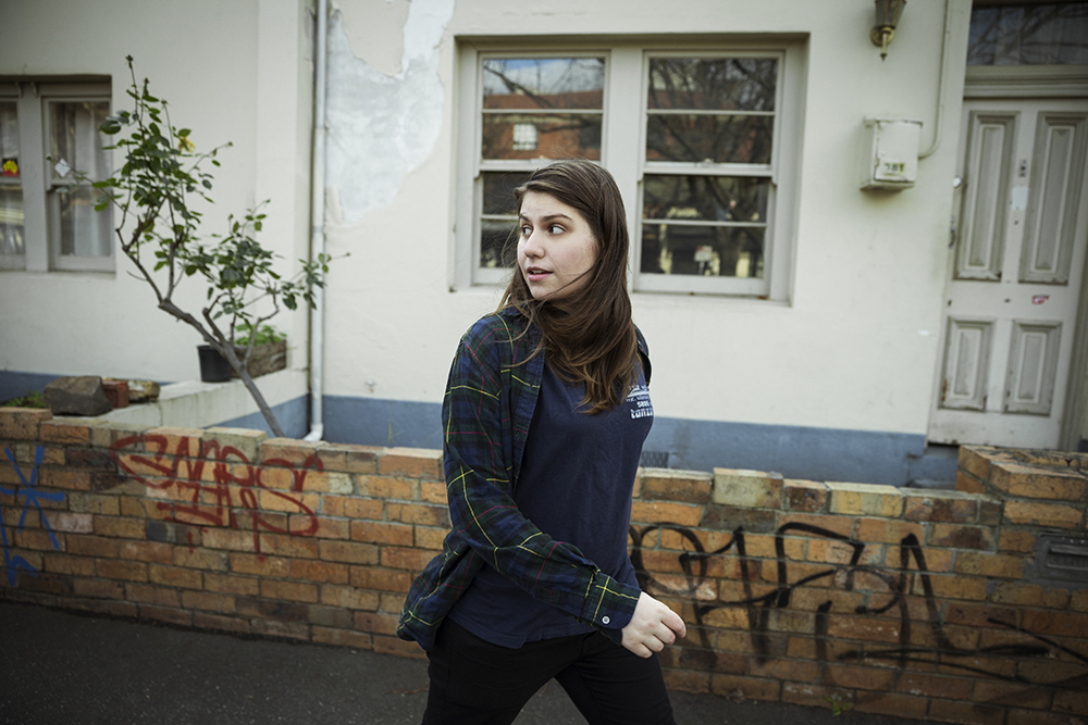 Alex Lahey. (Photo: Kane Hibberd)