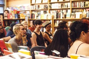 Archer Magazine launch, Bluestockings Bookstore, New York (Photo: Alexis Desaulniers-Lea)