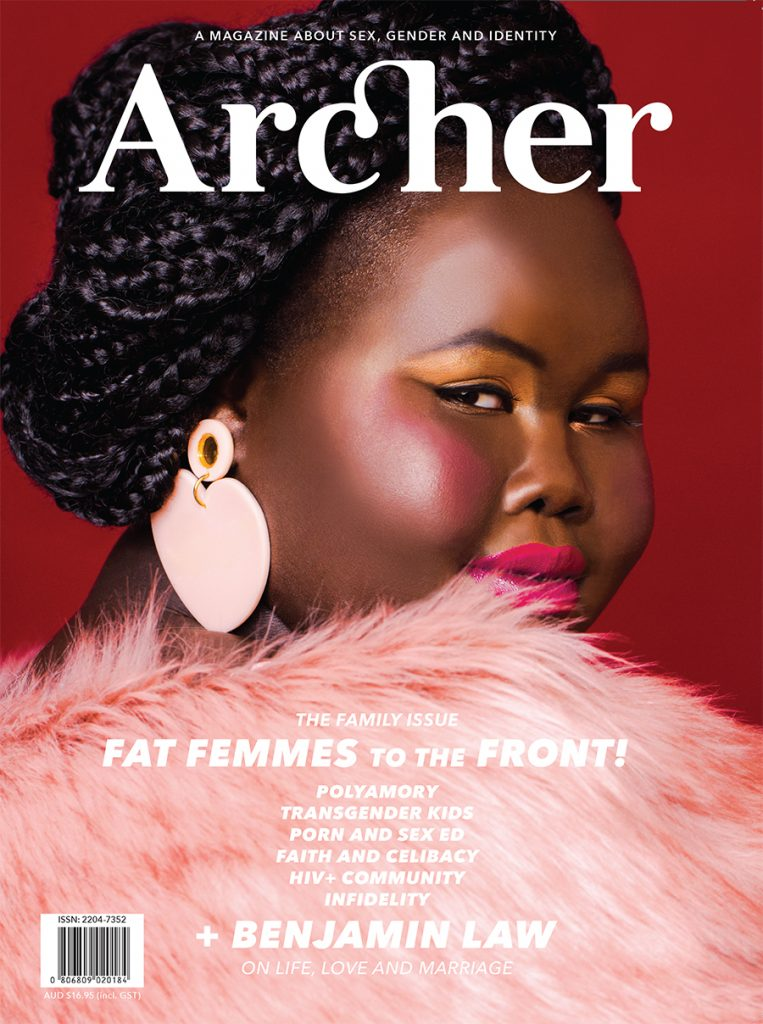 Cover of Archer Magazine #9 - the FAMILY issue