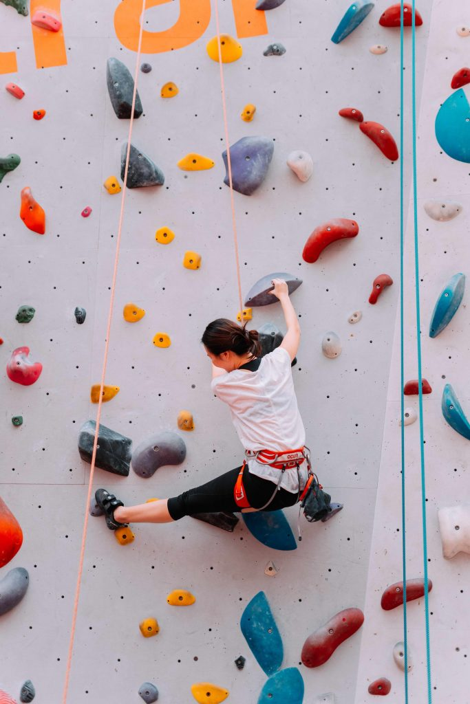 The Climbing QTs: identity on the rock climbing wall