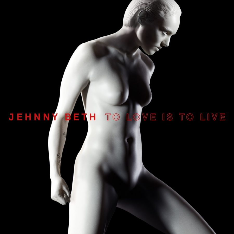 Album cover: To Love Is To Live by Jehnny Beth