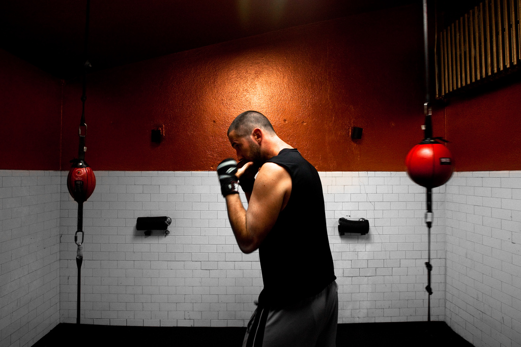 Boxing for bravery: Risk, transitioning and a warrior's spirit