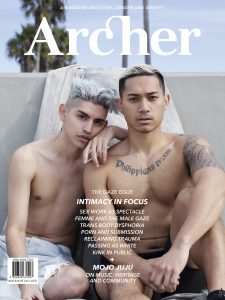 Cover of Archer Magazine #11 - the GAZE issue