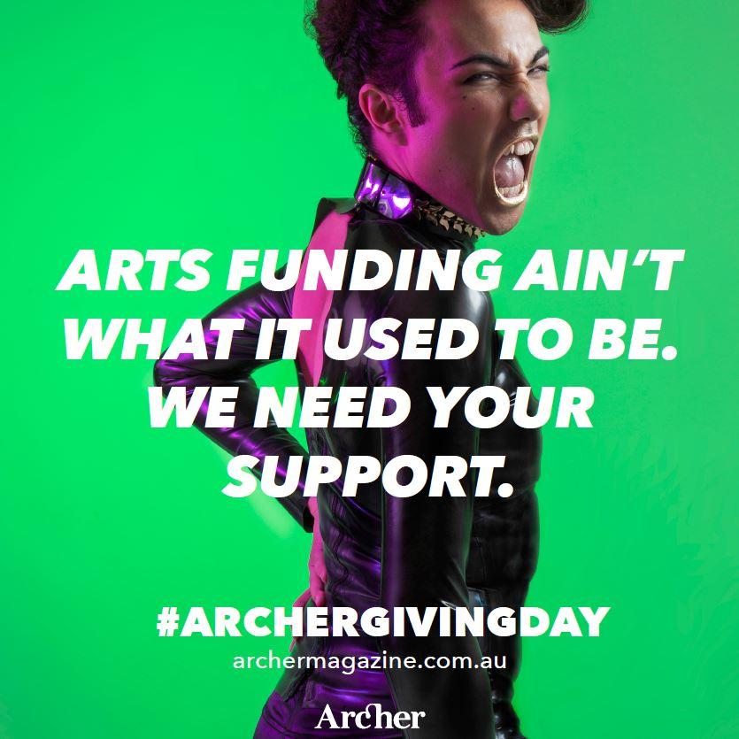 We need you! Help us keep printing Archer Magazine