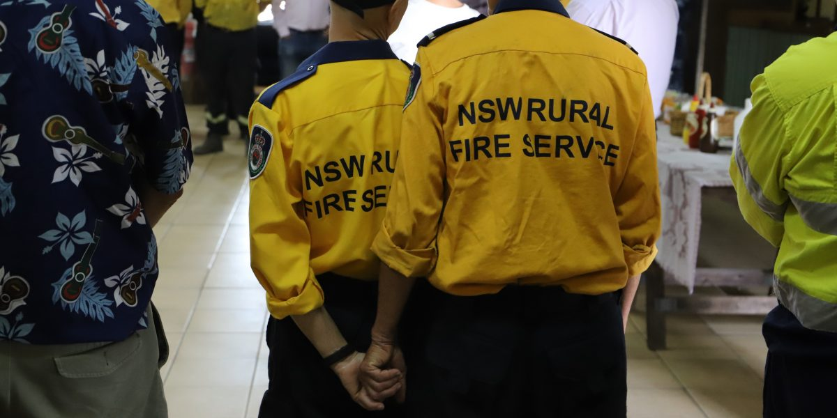 Bushfires and community: All in it together