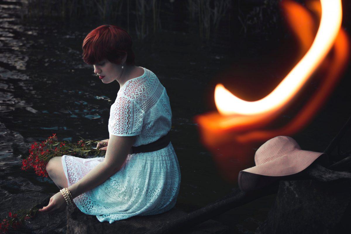 From 'feminine' to fire: Burning dresses