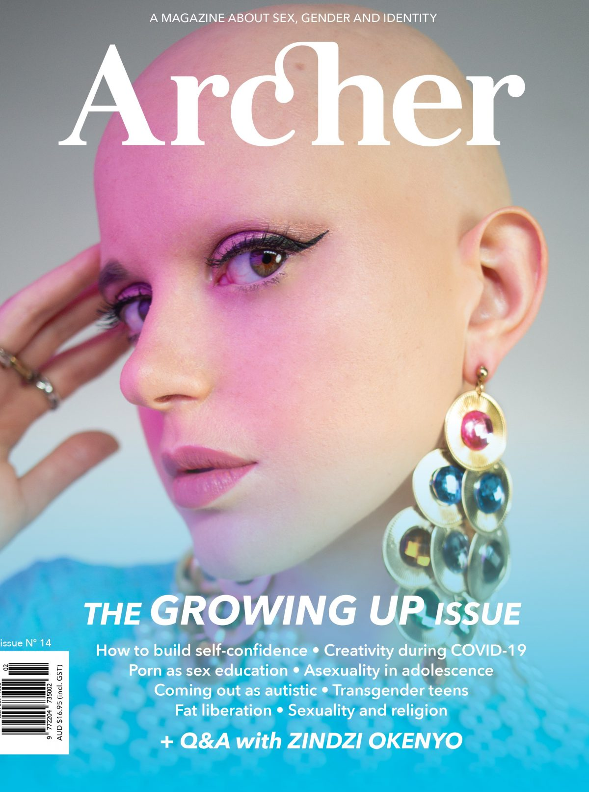 Archer Magazine issue #14 – the GROWING UP issue