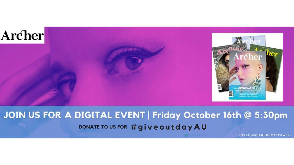 Archer Magazine's DIGITAL LAUNCH PARTY this Friday night!