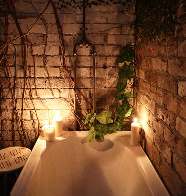 Outdoor bath, Hedon House, Sydney